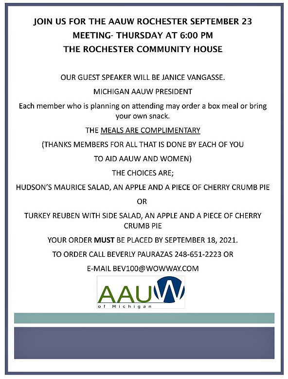 Rochester Community House Meeting
